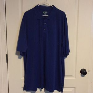 Blue Izod Golf Shirt 3XLT